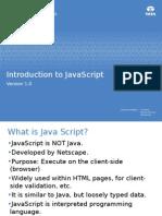 ILP J2EE Stream J2EE 08 Javascript V0.3