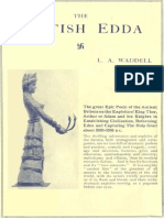 WADDELL (L.A.) - The British Edda (1930) 1 of 3