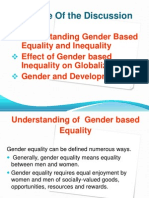 Understanding of Gender Based Equality and Inequality