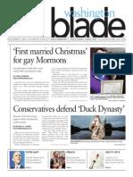 Washingtonblade.com, Volume 44, Issue 52, December 27, 2013