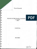 (Score)_Fausto Romitelli_Blood on the Floor(2000)