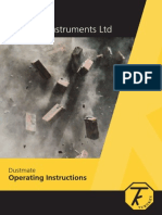 DustMate Operating Instructions