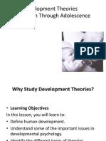 Development Conception to Adolescence