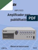 AMP 210CD Instr