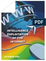 Intelligence Exploitation of the Internet