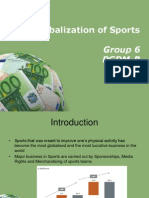 Globalization in Sports