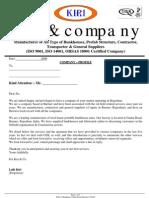 Company Profile Kiri & Company