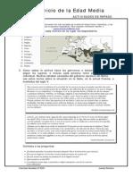 Ejercicios de repaso - Unidad 1 Ciencias Sociales (2º ESO)