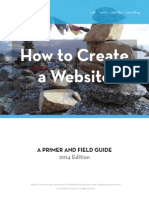 How to Create a Website - Relative Commotion - 2014