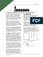 Ilford Push Processing