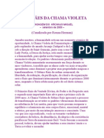 GUARDIÃES DA CHAMA VIOLETA-ARCANJO MIGUEL por Ronna Herman – setembro de 2009.eml