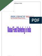 Mutual Fund Marketing in India