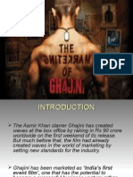 MARKETING SUCCESS BEHIND AAMIR'S GHAJINI