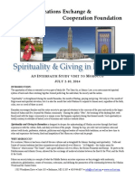 2014 Morocco Spiritulaity & Giving in Ramadan 121313 NP