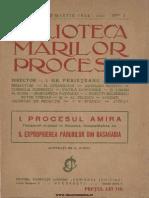 Biblioteca Marilor Procese, 1, Nr. 3, Martie 1924 - I. Gr. Perieteanu