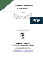 Worksheet Statistics