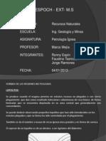 Exp. Petrologia Ignea. 5to Geologia y Minas. Formas de Las Rocas Igneas