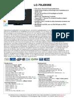 LC70LE835E Datasheet