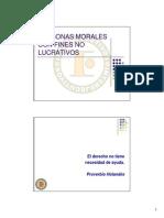 Personas Morales Con Fines No Lucrativos Titulo III