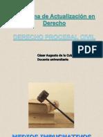 Derecho Procesal Civil - UNIDAD V