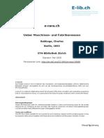 Ueber Maschinen- Und Fabrikenwesen