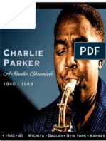 Charlie Parker - A Studio Chronicle 1940-1948