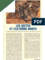 Les sectes et l'extrême-droite - par Eric CHAMS (1993)