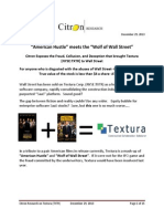 Citron Report on Textura