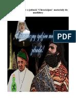 Tydzień modlitw o jedność 'Chrześcijan'- materiały do modlitwy
