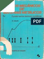17 - EXTRAS - Souza, Ensaios Mecanicos de Materiais Metalicos - Fundamentos