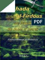 (Shahada And Al Firdous Are Beneath The Shade Of Swords)