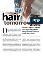 How one's surgeon's curiosity about Ilter Clinic and modern hair transplant