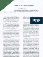 Souvenir du Dr FERDIERE - par Eric CHAMS (1991)