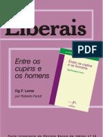"""Sumário - """"ENTRE OS CUPINS E OS HOMENS"""" - Og Leme  (Banco de Idéias nº 48)SUMÁRIO_rev 48"""