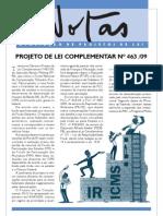 NOTAS nº 116 2009 (Banco de Idéias nº 48) - PROJETO DE LEI COMPLEMENTAR Nº 463 /09