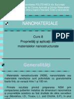 Curs 8_Proprietatile Si Aplicatiile Materialelor Nanostruc