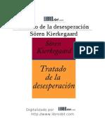 Kierkegaard Soren-Tratado de La Desesperacion
