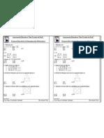 Examen Bimestral de Rm (6to)