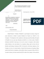 Gas Natural (EGAS) Lawsuit United States District Court - December 2013