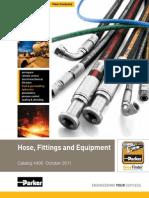 Parker Hose Fittings Equipment 4400 Catalog