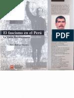 14a Tirso Molinari Libro El Fascismo en el Peru La Unión Revolucionaria 1931 36 Indice