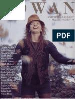 Rowan Knitting and Crochet Magazine 40