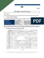 V-MPD no BSPlink  - Referência para emissão