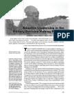 Adaptive Leadership Article