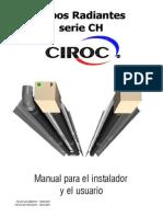 Manual Tubo Radiante Serie CH