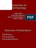 Introduction to Pharmacology