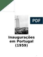 Inaugurações em Portugal (1959)