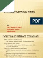 Datawarehousing and Mining