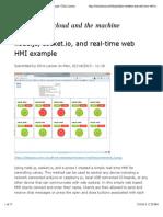Node.js, Socket.io, And Real-time Web HMI Example | Chris Larson