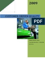 Customer Driven Quality
